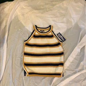 Cute sleeveless sweater